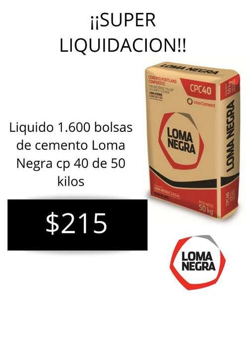 Liquido Cemento Loma Negra de 50 Kilos
