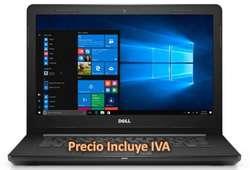 """Oferta Laptop Portatil Dell Inspiron 14 Core I3 8gb 1tb Pantalla 14"""", i5/i7 PRECIO INCLUYE IVA ENTREGA A DOMICILIO"""