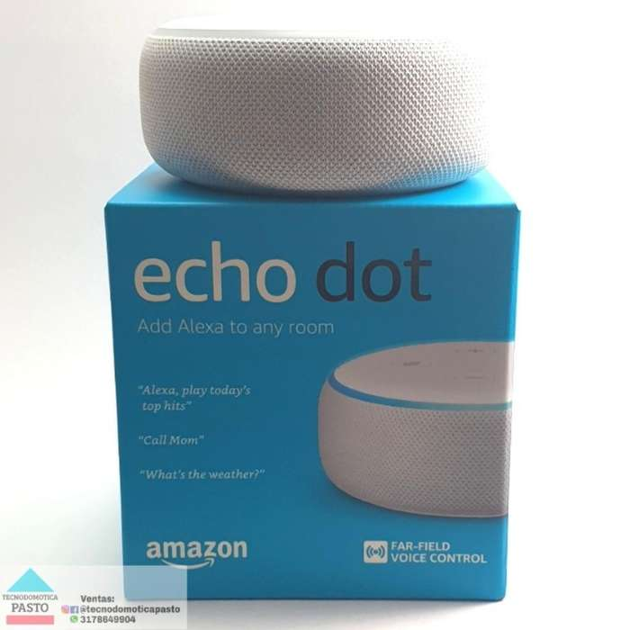 Altavoz Inteligente Echo Dot 3