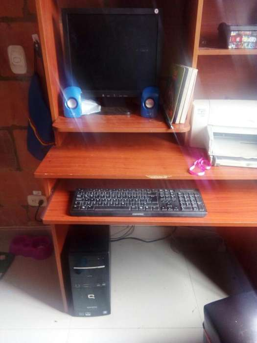Computador con Impresora