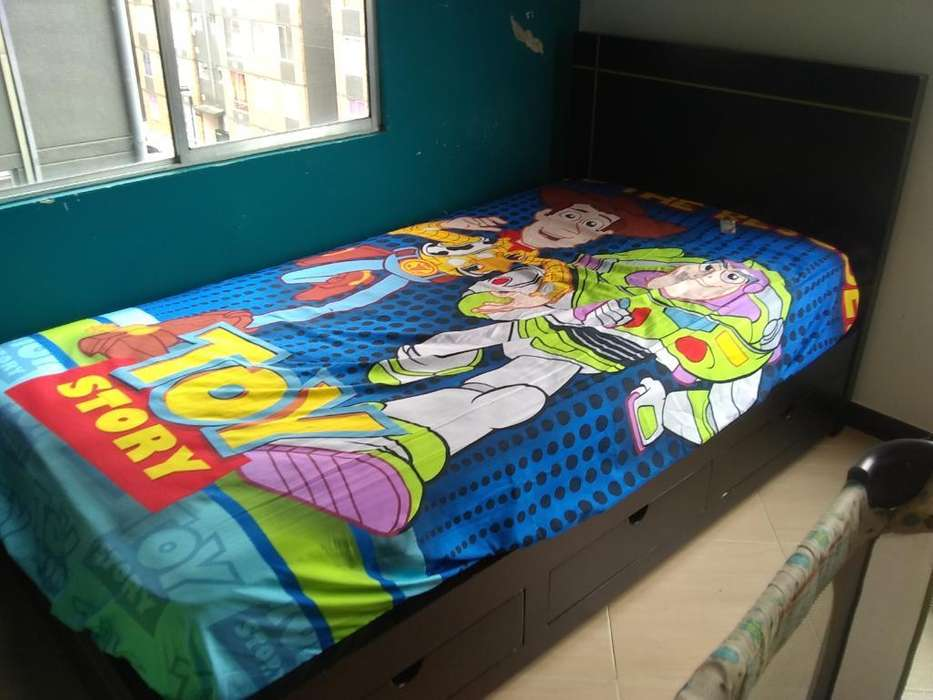 <strong>cama</strong> Sencilla Flormorado Tiene 3 Cajones