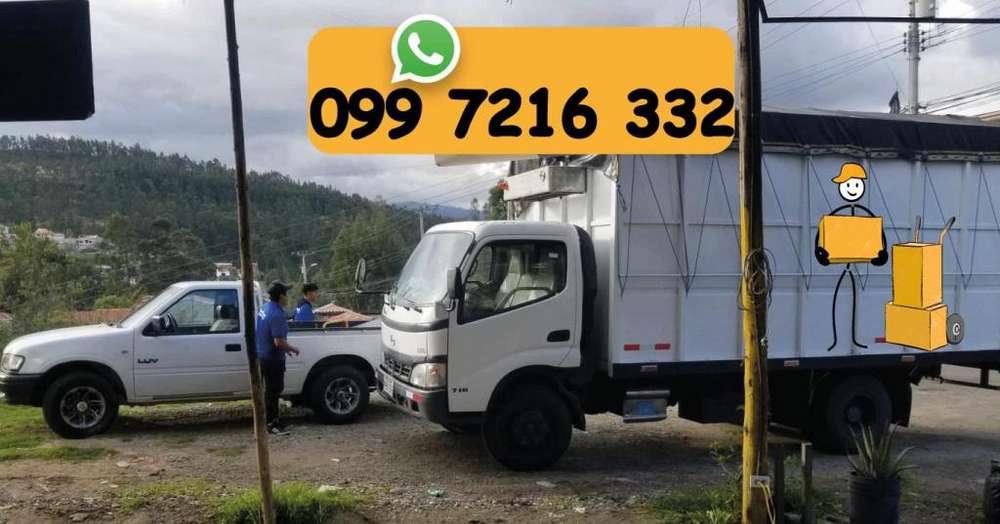Camion - Camionetas Mudanzas, Embalaje, Estibaje, Fletes
