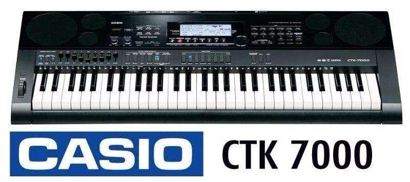 Teclado Electrónico CASIO CTK-7000