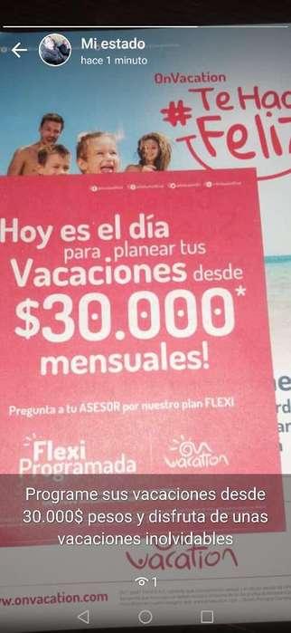 Programa Tus Vacaciones desde 30.000