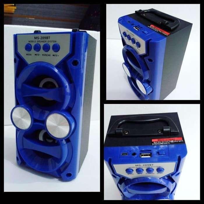 VARIOS PARLANTES VENDO NUEVOS MS 209BT MS 185 BT MS 268BT portátil potencia FM Radio inalámbrico Bluetooth