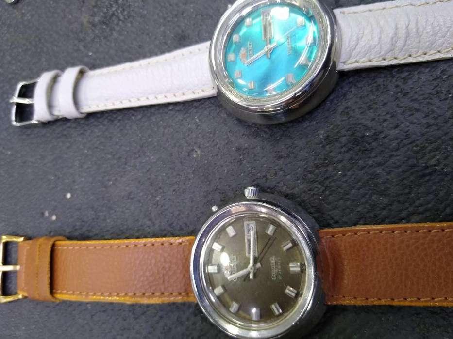 Vendo Dos Relojes Marca Orient Originals