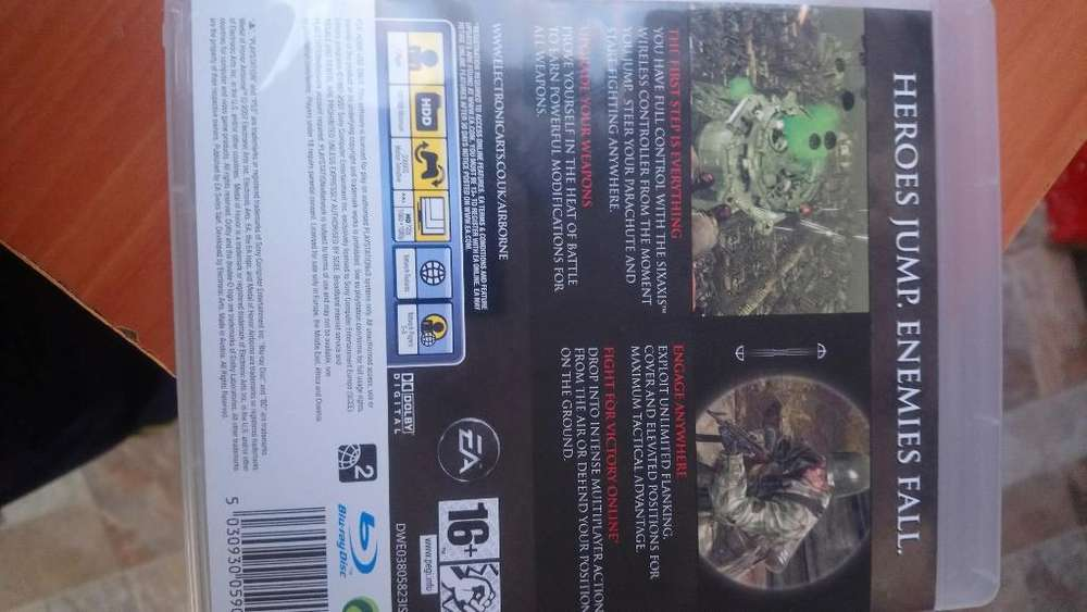 Medal Honor Airborne Ps3 Nuevo