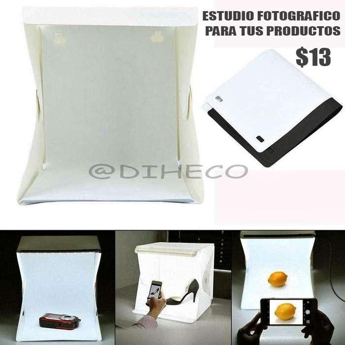 mini estudio de fotografía para tus productos