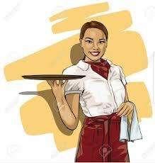 se busca camarera