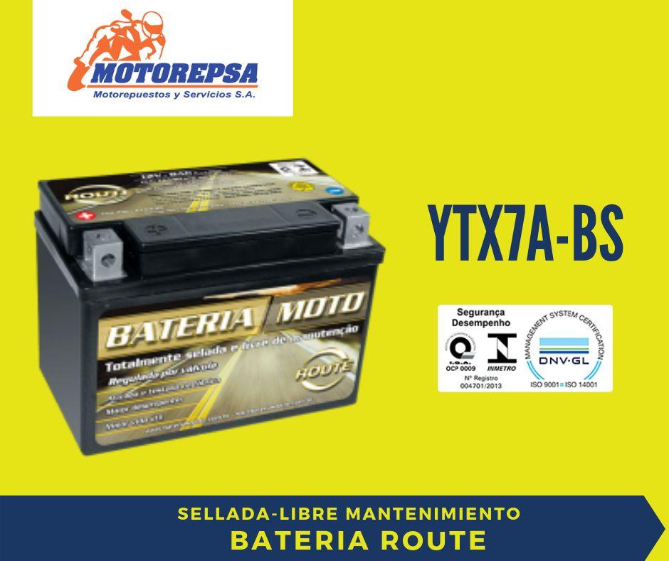 Bateria MOTO YTX7ABS / 12v6Ah