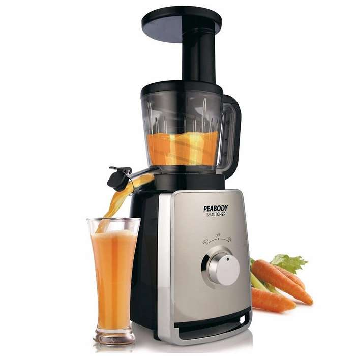 Juguera Peabody Inoxidable Slow Juicer Pe-sj25ix
