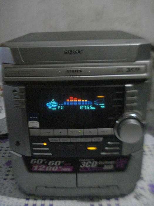 Cuerpo Central Minicomponente Sony Hcd Dx2 Funcionando