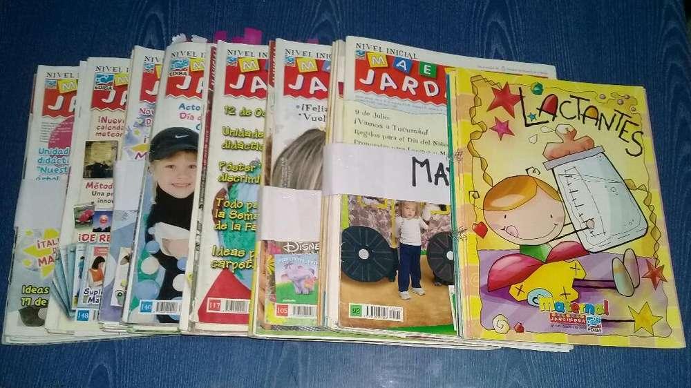 Revistas Maestra Jardinera