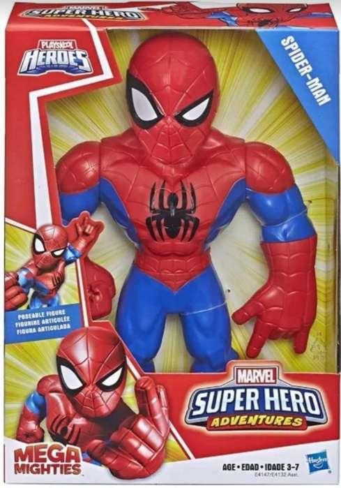 Muñeco Spider-man Super Hero Aventures
