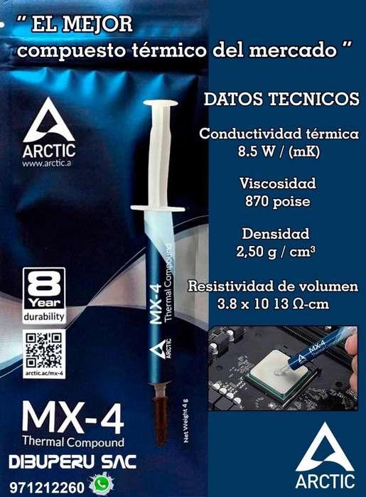 PASTA TÉRMICA MX4 4gr ARCTIC