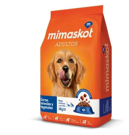 Alimento para mascotas - Mimaskot bolsa 15 kg
