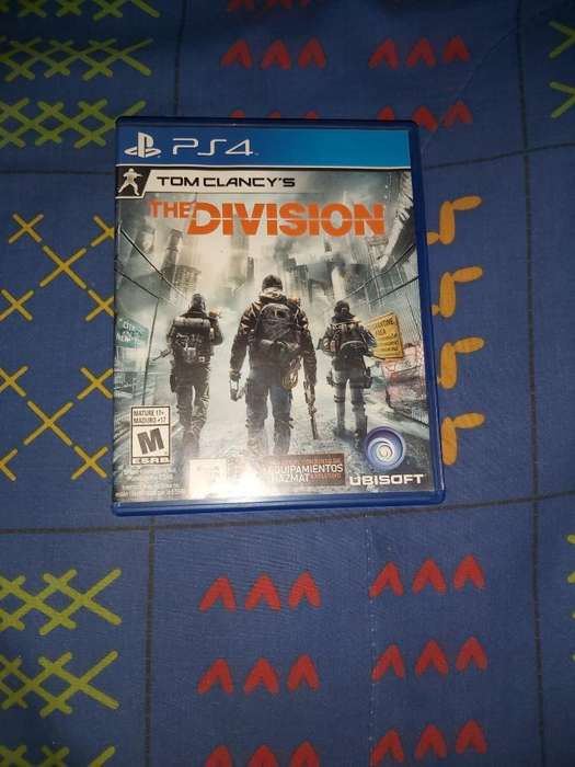 Vendo The Division Ps4 Usado 10/10