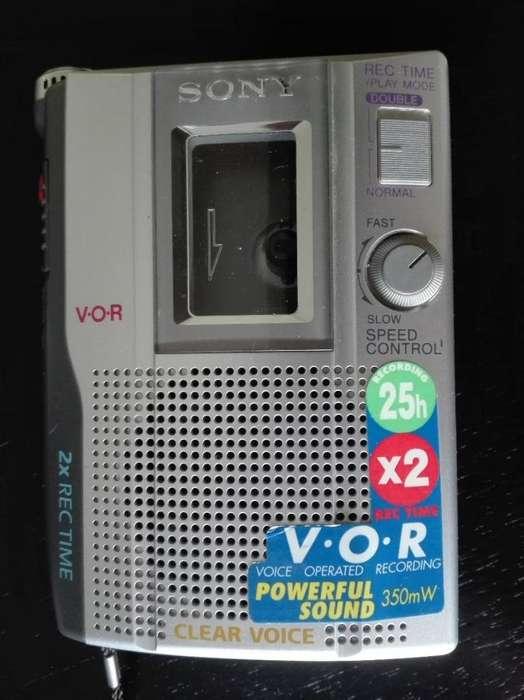 Grabadora De Voz De Cassette Estándar Sony Tcm-200dv