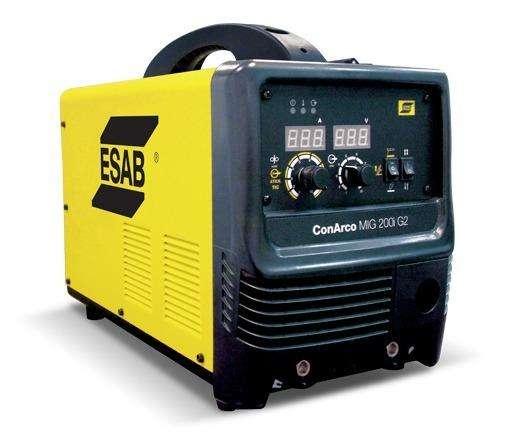 Soldadora Inverter Esab Mig 200 G2 3 En 1 Mig Tig Electrodo
