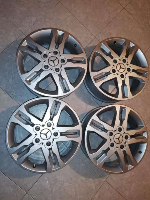 Ganga!! Rines Mercedes Benz Originales