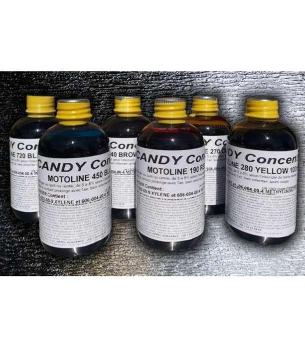 Pintura Tinta Candy Automotor 72 Colores