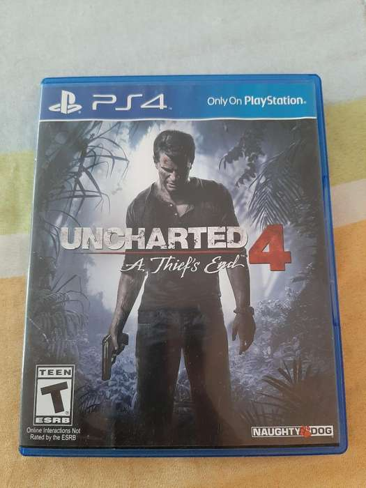 Vendo Uncharted Ps4