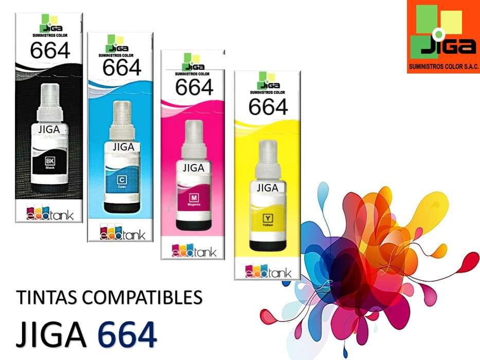 Tintas compatibles JIGA