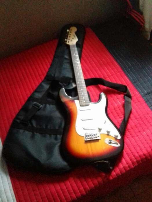 Combo Guitarra Electrica Funda amplif
