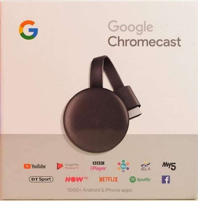 Vendo Chromecast 3