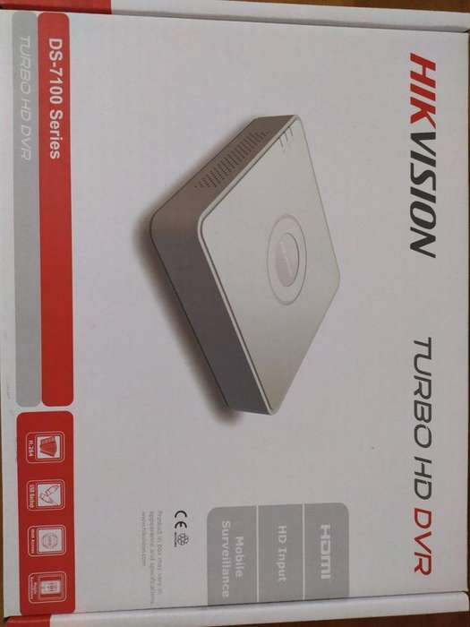 Dvr Hikvision Turbo Hd Dvr 4 Canales Grabador de <strong>video</strong>