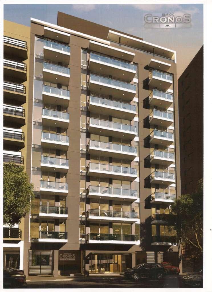 Venta 3 Ambientes a la calle con balcón saliente.  Edificio a estrenar.