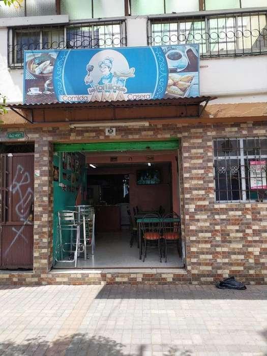 Restaurante de Venta por Fuerza Mayor