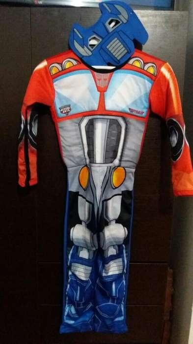 Disfraz Rescue Bots..talla 8