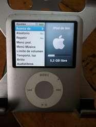 iPod Nano 8 Gb 3 Generacion Cargador Aud