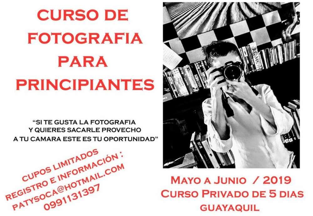 CURSO DE FOTOGRAFIA PRINCIPIANTES