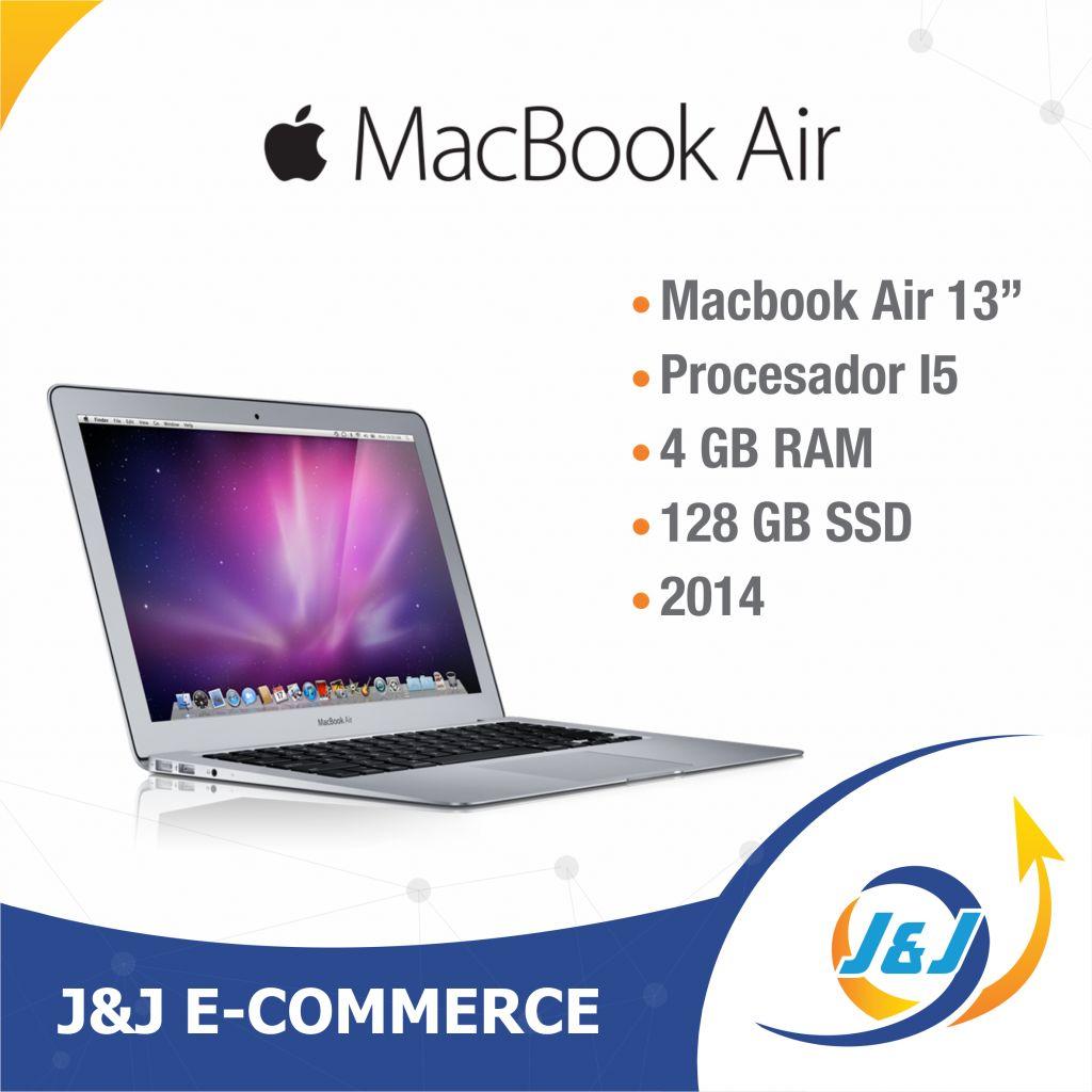 "*** MacBook Air 13"" 2014 Procesador i5 4GB RAM 128 GB SSD MagSafe 85W BITCOIN, ETHEREUM BTC ***"
