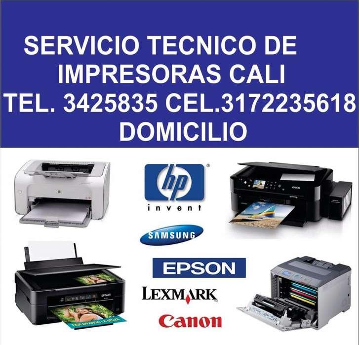 SERVICIO TECNICO EPSON CALI Y MANTENIMIENTO DE IMPRESORAS Y REPARACION DE IMPRESORAS CALI TELEFONO 3425835 A DOMICILIO
