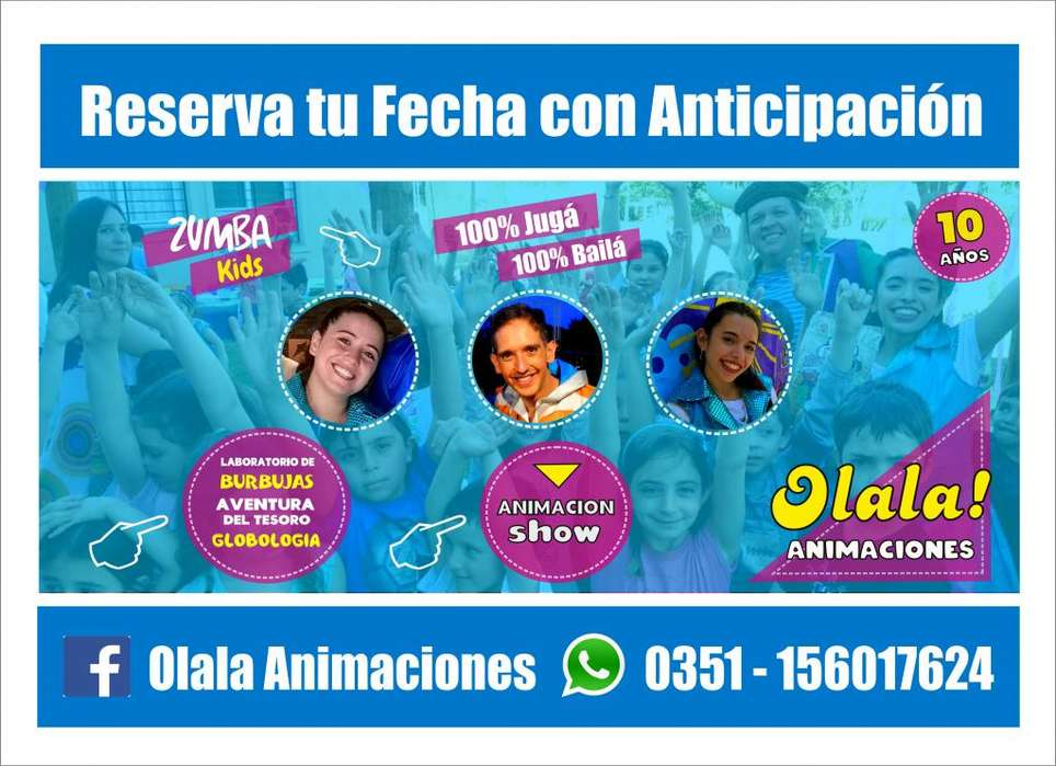 OLALA ANIMACIONES INFANTILES CORDOBA ARGENTINA