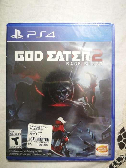 Juego Ps4 God Eater 2
