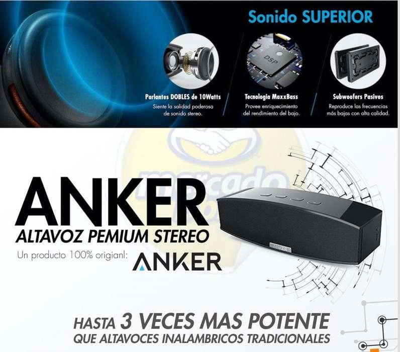 Parlante Anker Premium Stereo Bluetooth 4.0 Entrega Inmediata