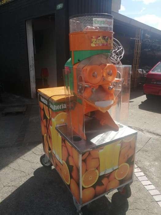 <strong>exprimidor</strong> de Naranja Industrial Zumoval