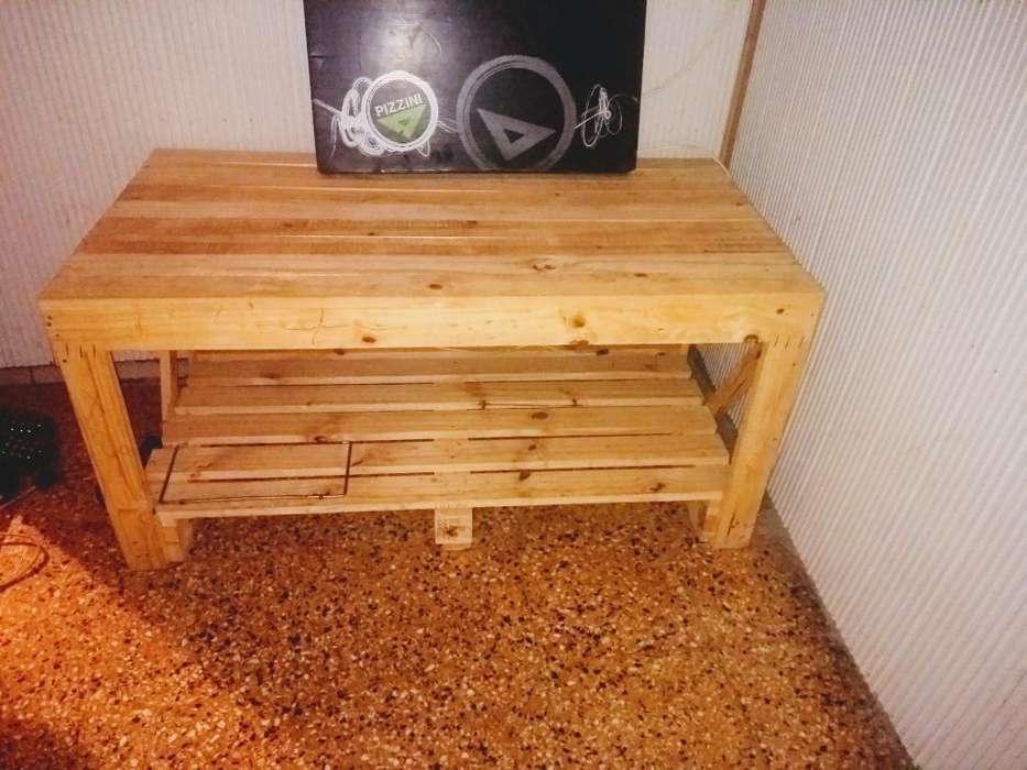 <strong>mesa</strong> rustica de madera - petisa