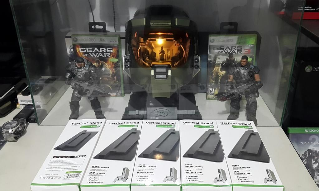 Base Soporte Vertical Para Xbox One S Evita Exceso De Calor Ocupa menos Espacio y Luce Mas Elegante