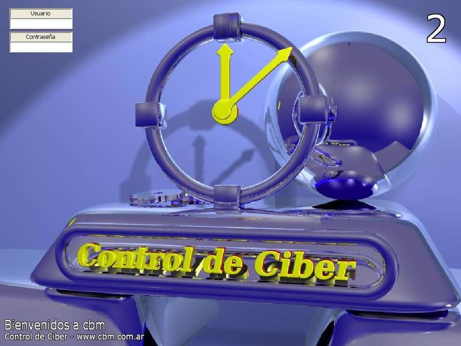 Software control ciber para controlar las horas de las salas de internet