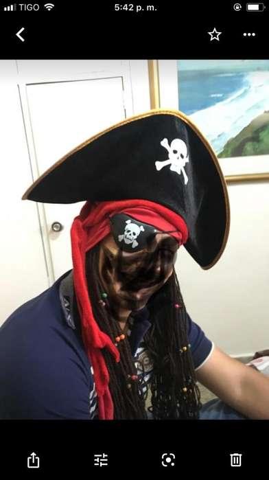 Disfras de Pirata
