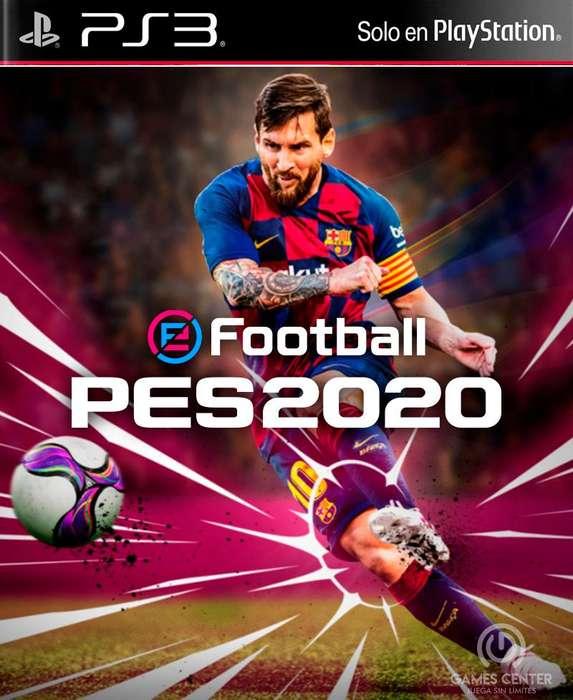 SE VENDE PES 2020 DE PS3