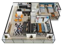Vendo o Permuto AutoPlan Dpto 2 Dormitorios!!