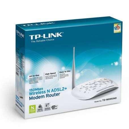Modem Router ADSL En su Caja TPLink 150 Mbps Excelente Estado NO PERMUTO NI LLEVO A DOMICILIO