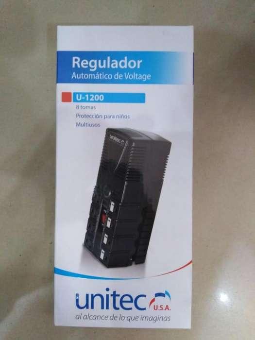 Regulador Voltaje Unitec U-1200
