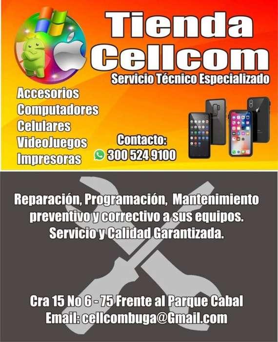 Servicio Tecnico para celulares, computadores y consolas de video juegos.